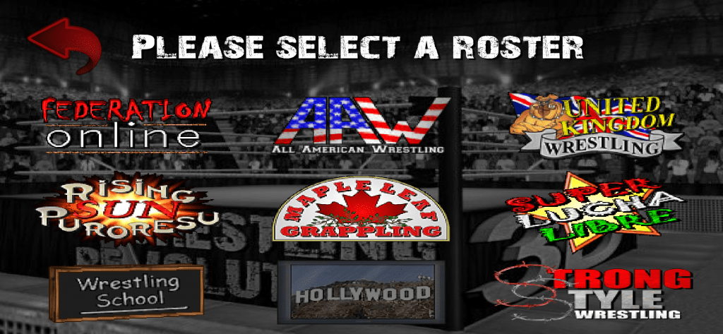 Rosters in Wrestling Revolution 3D