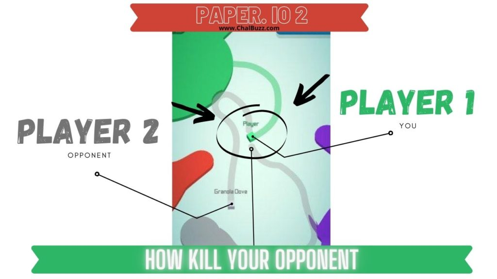 Paper io 2 kill your opponent